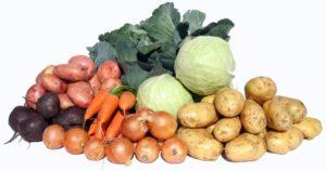 овощи из огорода