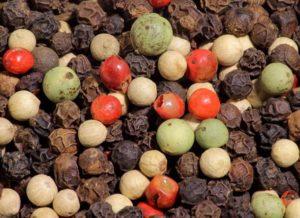 перец горошек разных цветов