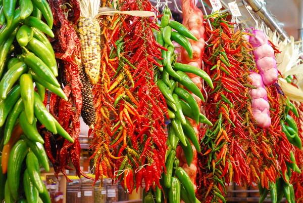 разновидности горького перца