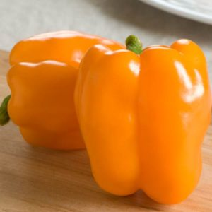 перец оранжевого цвета
