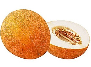 желтовато-оранжевая дыня