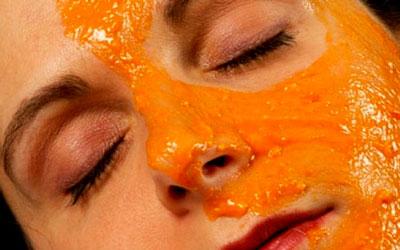 маска для лица из тыквы