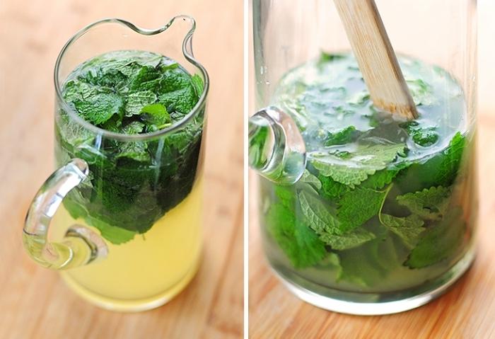 напиток из мелиссы