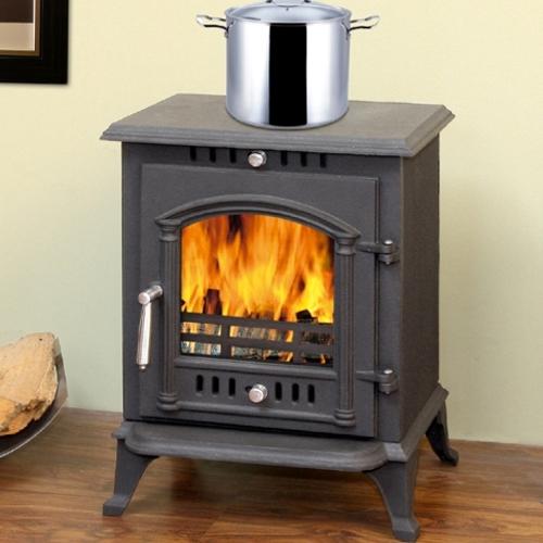 печь-камин с варочной панелью