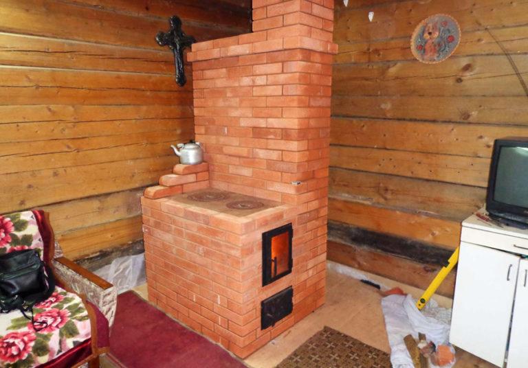 Печка для дачного домика своими руками