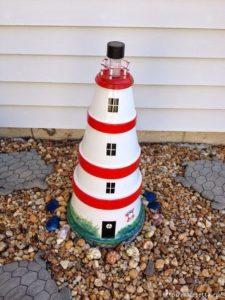 маяк из горшков